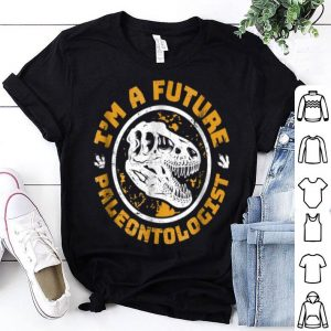 Premium Future Paleontologist Dinosaur Skull shirt