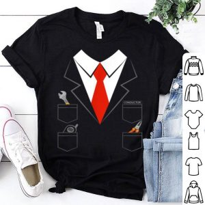 Premium Halloween Costume For Kids And Adults Train Conductor shirt