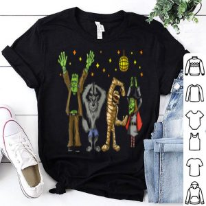 Premium Monster Mash Disco Dance Party Halloween Group shirt
