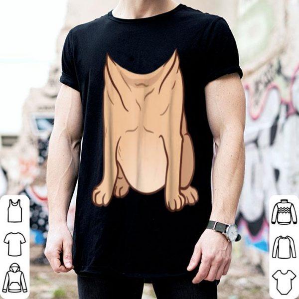 Pug Costume For Halloween Animal Body Cosplay shirt