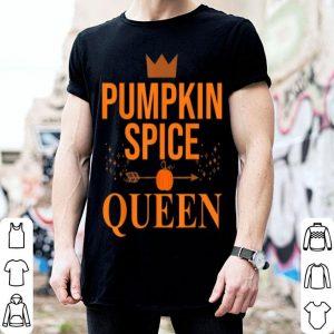 Pumpkin Spice Queen Coffee Lover Halloween & Thanksgiving shirt