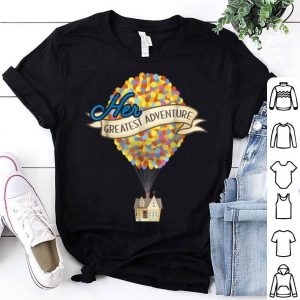 Top Disney Pixar Up Her Greatest Adventure House Graphic shirt