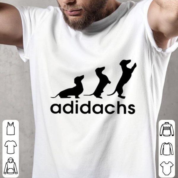 Adidas Adidachs Dachshund shirt