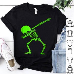 Awesome Dabbing Skeleton Halloween GLOW Skeleton Dab shirt