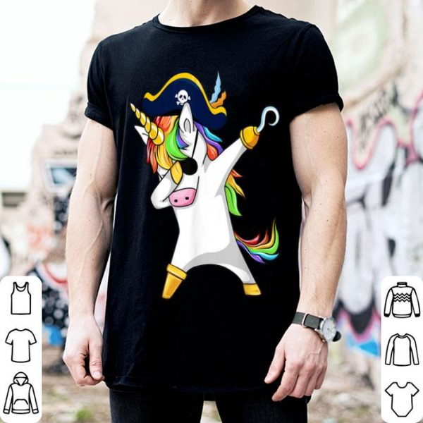 Awesome Dabbing Unicorn Pirate Funny Halloween Costume Gift shirt
