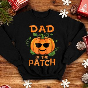Awesome Pumpkin Dad of the Patch Family Halloween Tee shirt