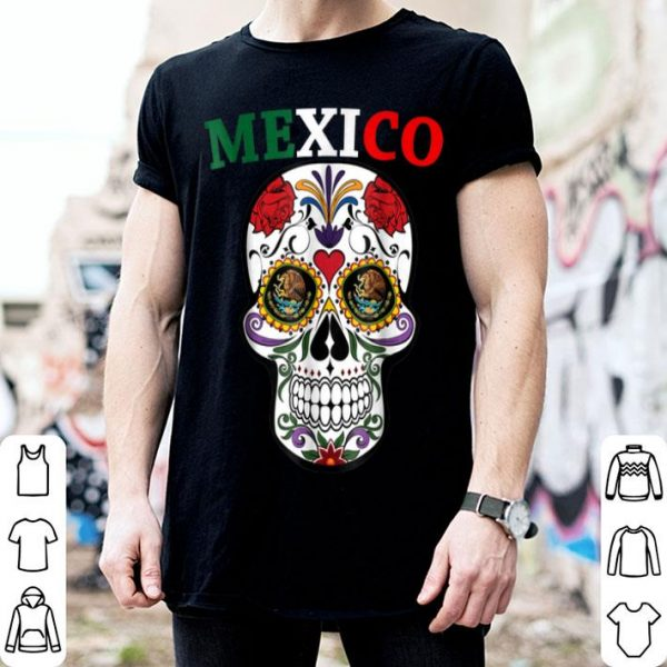 Awesome Sugar Skull Day of the Dead Halloween shirt
