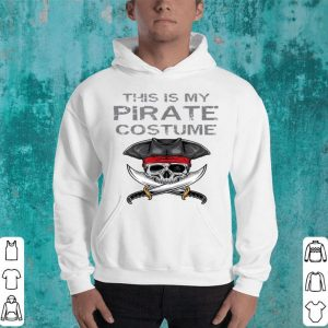 Awesome This Is My Pirate Costume Funny Halloween Costume shirt