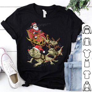 Beautiful Bearded Dragon Christmas Tee For Reptile Lover shirt