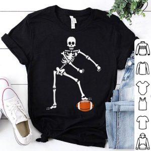 Beautiful Flossing Skeleton Football Halloween Sport lover gift shirt