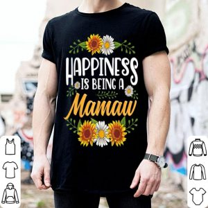 Beautiful Happiness Is Being A Mamaw Thanksgiving Christmas shirt