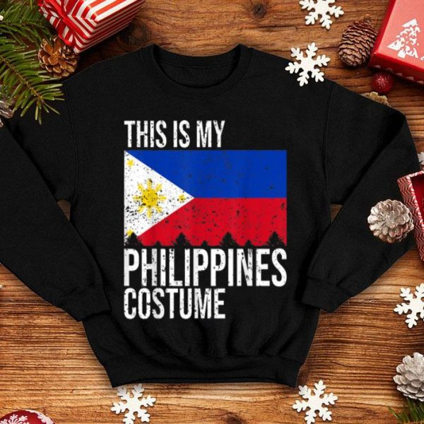 Beautiful This is my Philippines Flag Costume For Halloween shirt