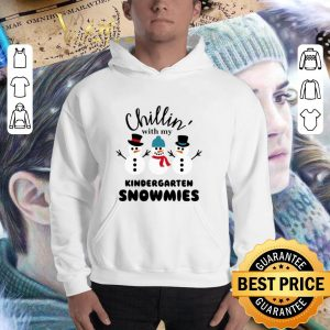 Funny Chillin' with my kindergarten Snowmies shirt 2