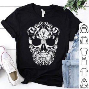 Hot Newfoundland Dog Skull Halloween Costumes Gift shirt