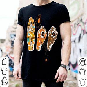Hot Pride ASL Boo Halloween costume, funny Sign Language shirt