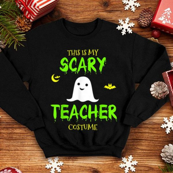 Hot This Is My Scary Teacher Costume Halloween shirt
