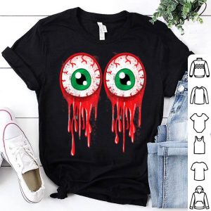 Nice Bloody Boob Eyeballs Halloween Party Costume shirt