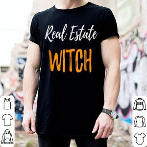 Nice Real Estate Witch Funny Realtor Agent Halloween Gift shirt