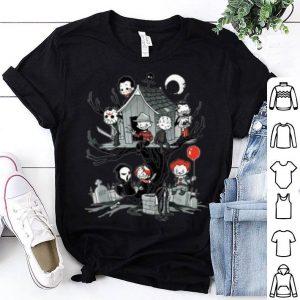 Nice Spooky Halloween Kids House Tree Full Of Serial Killers Gift shirt