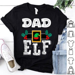 Official DAD - ELF Heart Christmas Matching Family Ugly Gift shirt