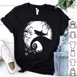 Official Halloween Costume Shark Moon Silhouette Vintage Gift Idea shirt