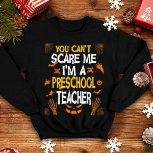 Official Halloween Preschool Teacher Funny Spooky Costume Gift shirt