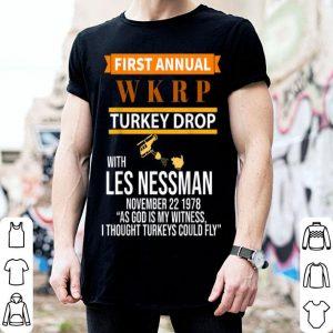 Original Funny WKRP Turkey Drop shirt