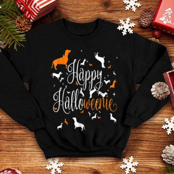 Original Happy Halloweenie Dachshund shirt