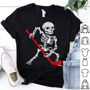 Original Skeleton Hockey Halloween shirt