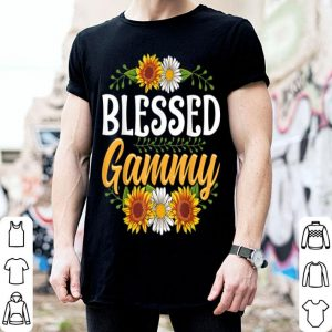 Premium Blessed Gammy Thanksgiving Christmas Cute Gift Floral shirt