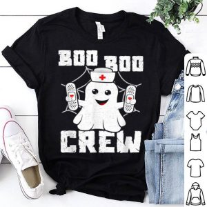 Premium Boo Boo Crew Ghost Nurse Costume Girls Funny Halloween shirt