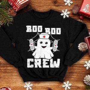 Premium Boo Boo Crew Ghost Nurse Costume Girls Funny Halloween shirt