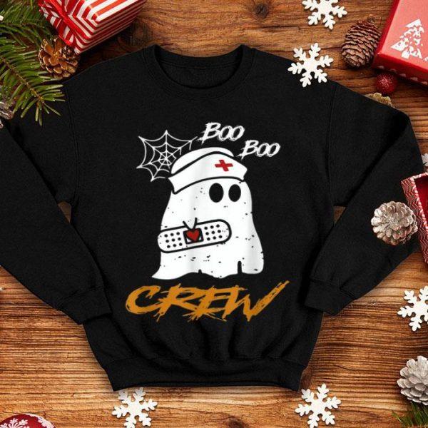 Premium Boo Boo Crew Nurse Ghost Funny Halloween Costume Gift shirt
