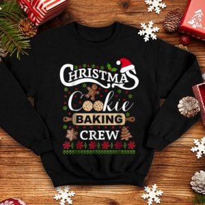 Premium Christmas Cookie Baking Crew funny cook shirt