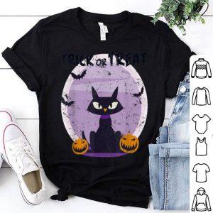 Premium Halloween Cat Funny Trick or Treat, perfect costume gift shirt