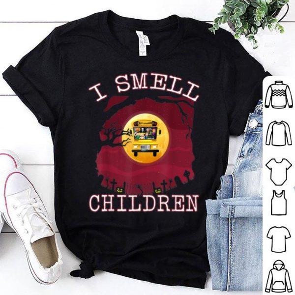 Premium Halloween Costume I Smell Children School Bus Driver Gift shirt