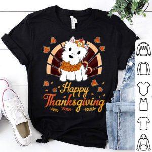 Premium Turkey Westie Dog Happy Halloween Thanksgiving Day shirt