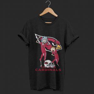 Premium trending Arizona Cardinals Rick and Morty shirt