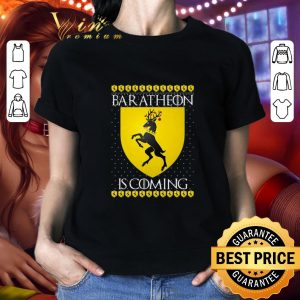 Pretty House Baratheon Is Coming GOT Christmas shirt