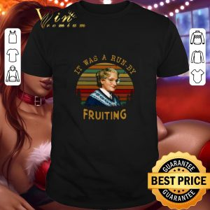 Top Mrs Doubtfire It Was A Run By Fruiting Vintage shirt