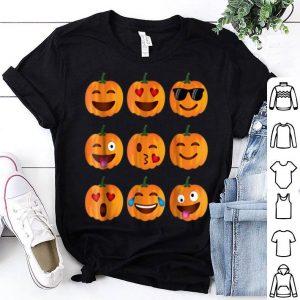 Top Pumpkin Emoji, Pumpkin Emoji Halloween Costume shirt