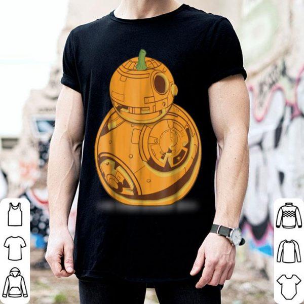 Top Star Wars BB-8 Pumpkin Carving Halloween Graphic shirt