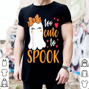 Top Too Cute To Spook Favorite Boo Halloween shirt