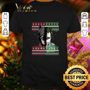 Awesome Batman Joker ugly Christmas shirt