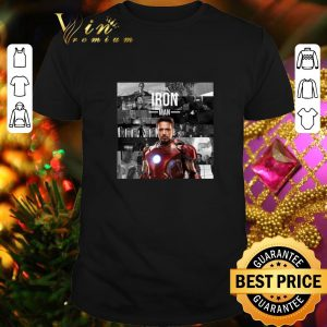 Awesome Best Of Iron Man Memories I am Iron Man shirt