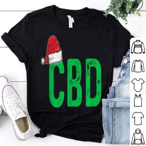 Awesome CBD Women Men Christmas Gift Santa Hat CBD Oil sweater