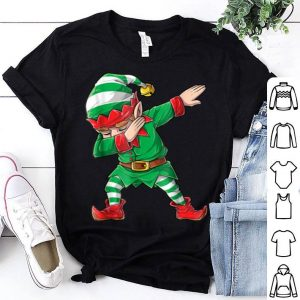Awesome Christmas Dabbing Elf Squad Family Matching Men Boys shirt