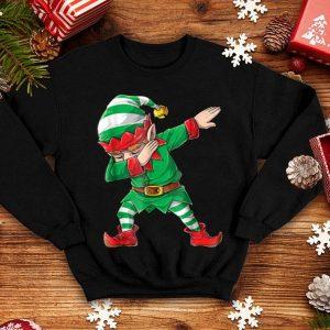 Awesome Christmas Dabbing Elf Squad Family Matching Men Boys shirt