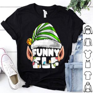 Awesome Elf Matching Family Christmas Elf Costume Gift Women shirt