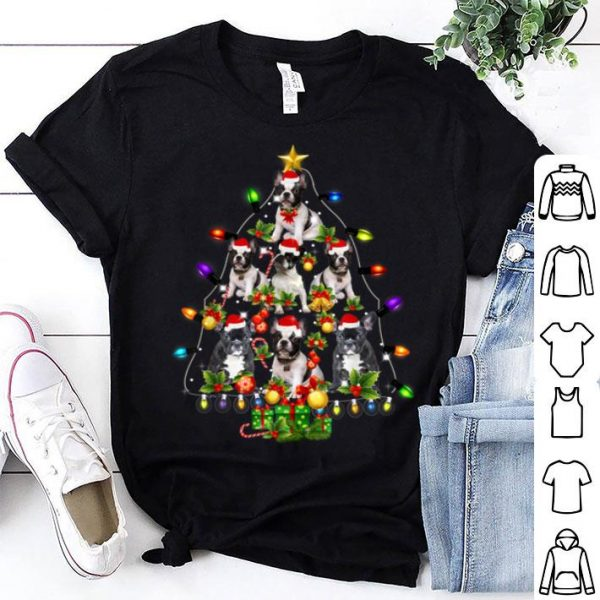 Awesome French Bulldog Christmas Tree Funny Dog Lover Gift sweater